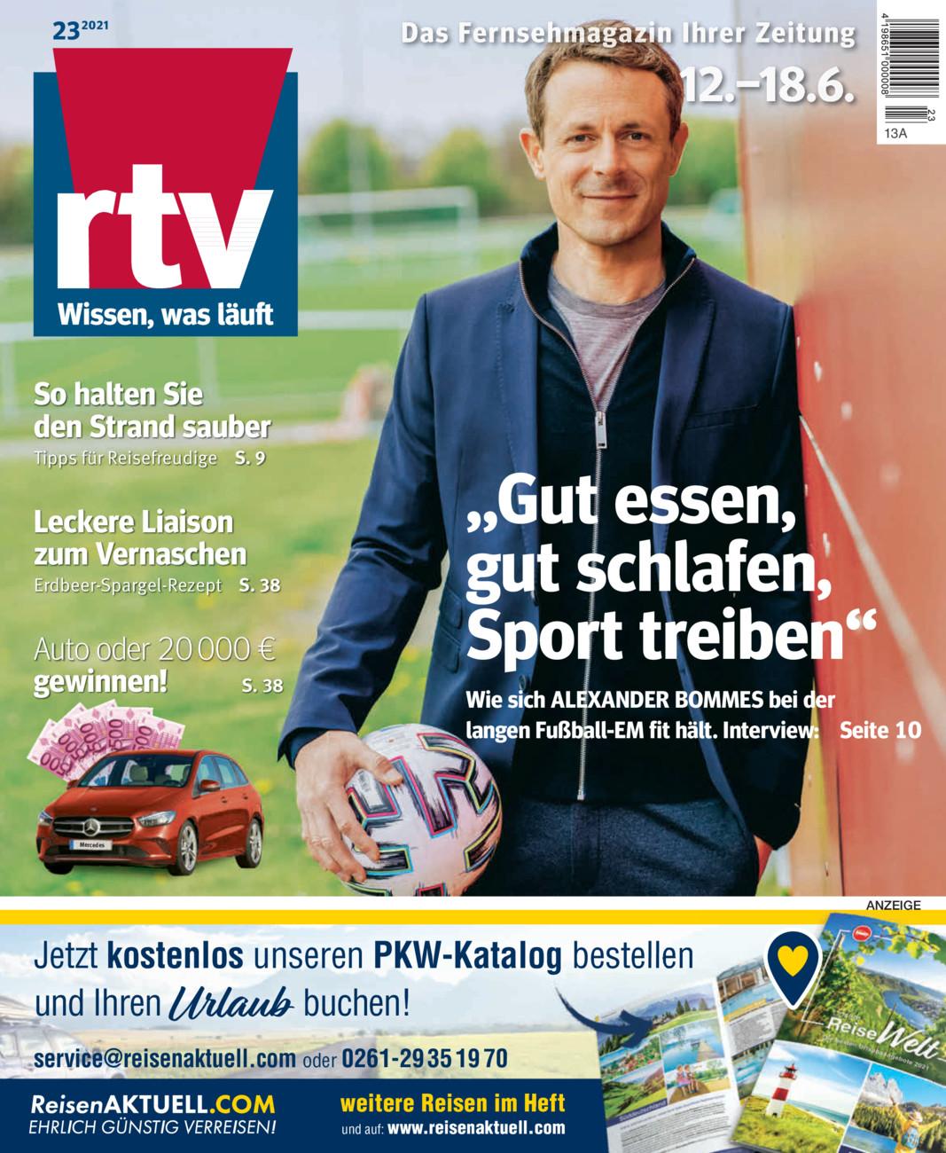 RTV KW23 vom Freitag, 11.06.2021