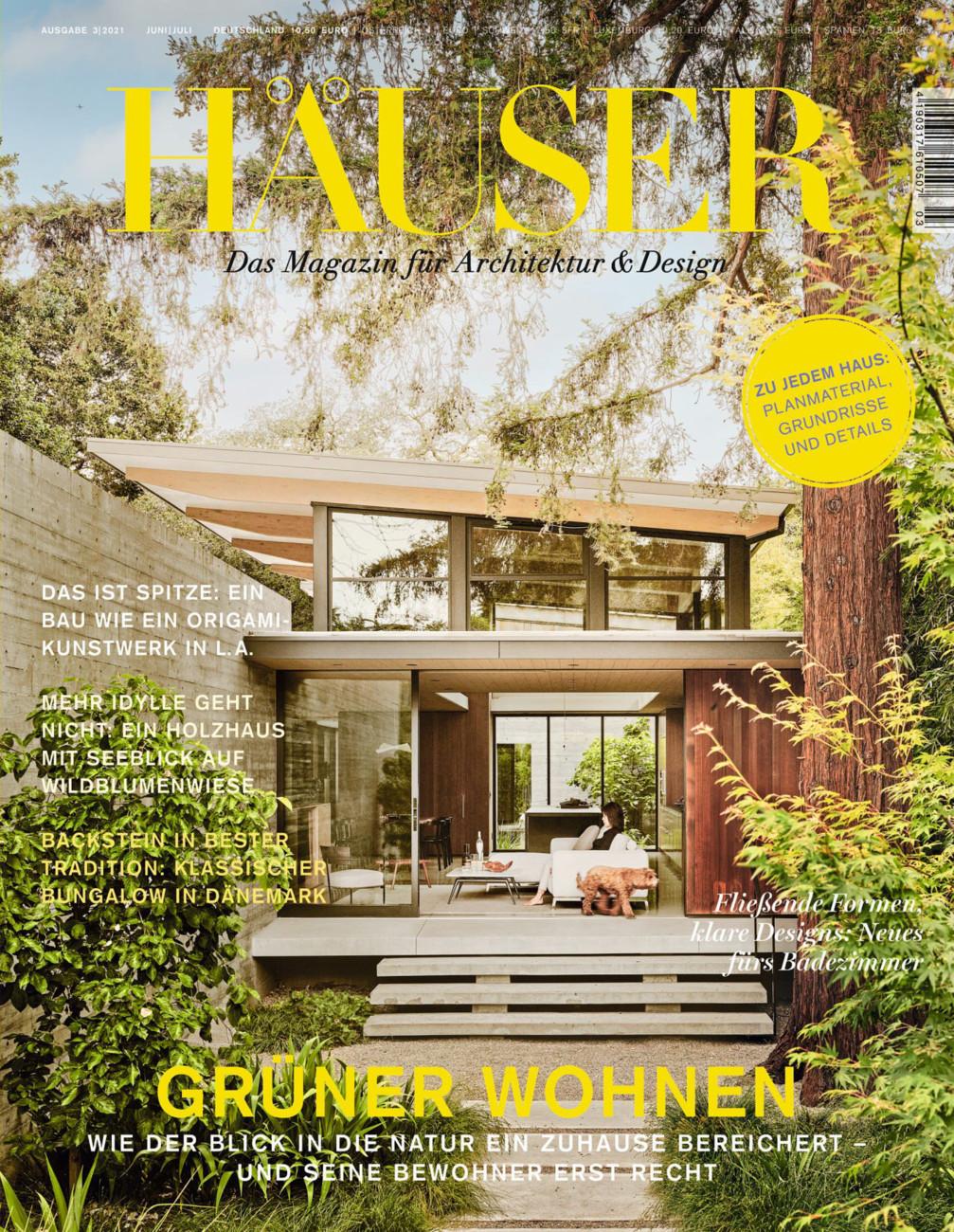 Häuser, das Magazin für Architektur & Design vom Samstag, 12.06.2021