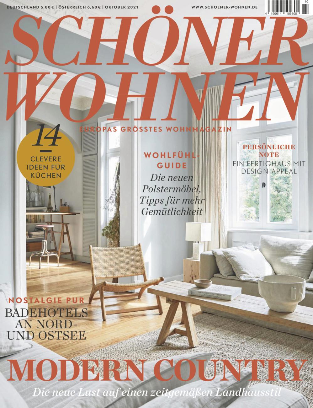 Schöner Wohnen, Europas größtes Wohnmagazin vom Samstag, 25.09.2021