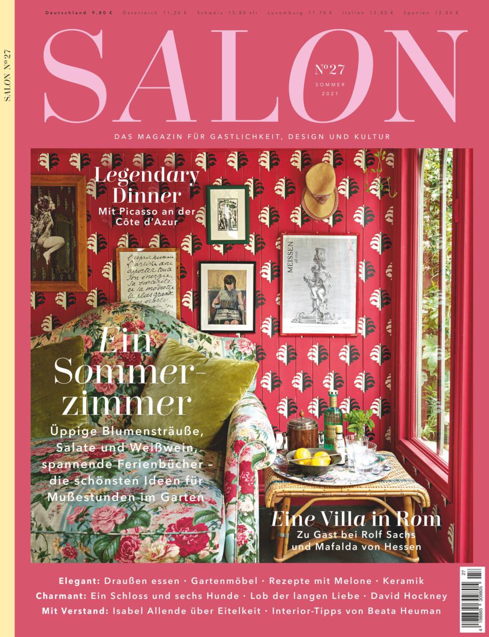SALON. Das Magazin für Gastlichkeit, Design und Kultur vom Samstag, 24.07.2021